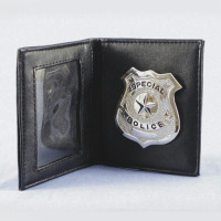 Police Badge and Wallet