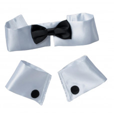 Collar with Tie and Cuffs