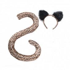 Leopard Ears & Tail