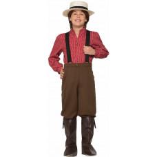 Pioneer Boy Costume