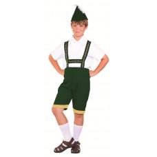 Bavarian Boy Costume