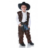 Cowboy Vest and Chaps Set