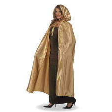 Gold Hooded Cape