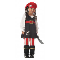 Precious Lil' Pirate Costume
