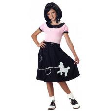 50's Hop Poodle Skirt