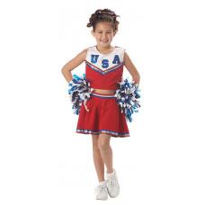 Patriotic Cheerleader Costume