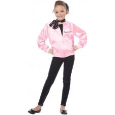 Pink Satin Ladies Jacket