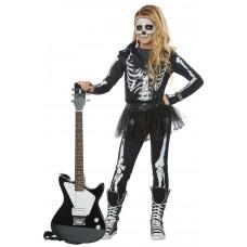 Skeleton Rocker Costume