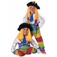 Colorful Clown Costume