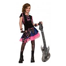 Pink Rock Girl Costume