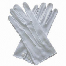 White Gloves with Snap