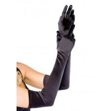 Extra Long Opera Length Satin Gloves