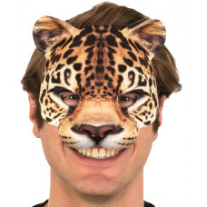 Leopard Half Mask