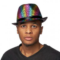 80's Holographic Hat