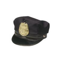 Police Hat w/Badge