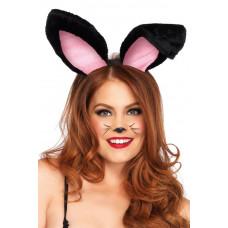 Plush Bunny Ears Headband