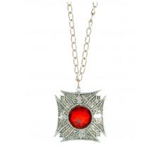 Luna Cross Necklace
