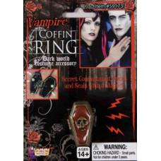 Vampire Coffin Ring