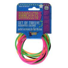 80's Rubber Bracelets