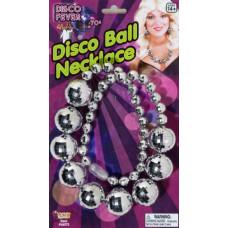 70's Disco Ball Necklace