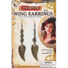 Steampunk Wing Earrings