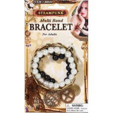 Steampunk Multi Band Bracelet
