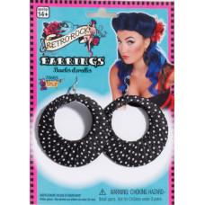 Retro Polka Dot Earrings