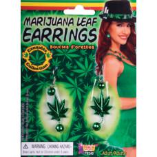 Marijuana Leaf Earrings
