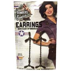 1940's Propeller Earrings