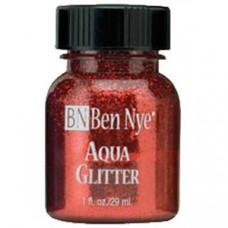 Aqua Glitter - Red