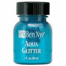 Aqua Glitter - Blue