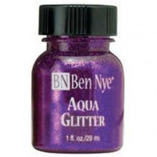 Aqua Glitter - Purple