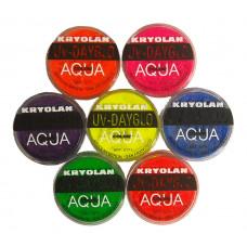 Aqua Color UV-Dayglo Makeup