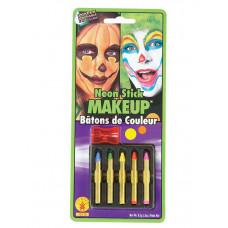 Neon Color Makeup Sticks