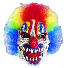 Funny Bones Evil Clown Mask
