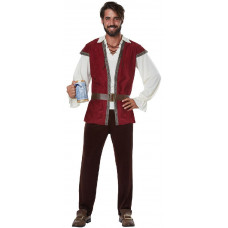 Medieval Man Plus Size Costume
