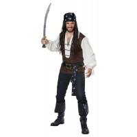 High Seas Adventurer Pirate Costume