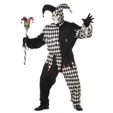 Evil Jester Plus Size Costume
