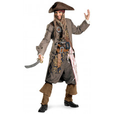 Captain Jack Sparrow Deluxe Costume