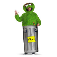 Oscar The Grouch Costume