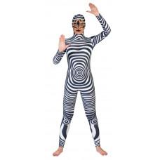 Black & White Retro Jumpsuit