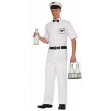 50's Milkman Costume