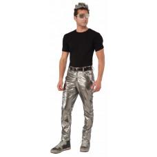 Futuristic Silver Pants