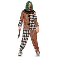 Creepy Circus Clown Costume