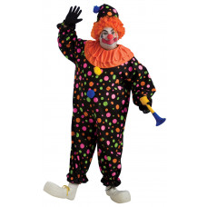 Full Figure Plus Size Clown
