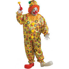 Jack The Jolly Clown Plus Size Costume