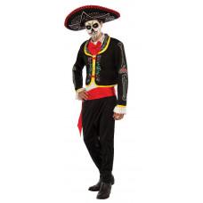 Day of the Dead Senor Muerto Mariachi Plus Size Costume