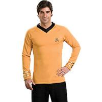 Captain Kirk Gold Deluxe Shirt