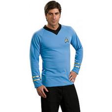 Spock Blue Deluxe Shirt