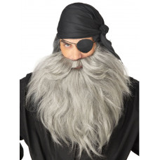 Pirate Beard & Mustache